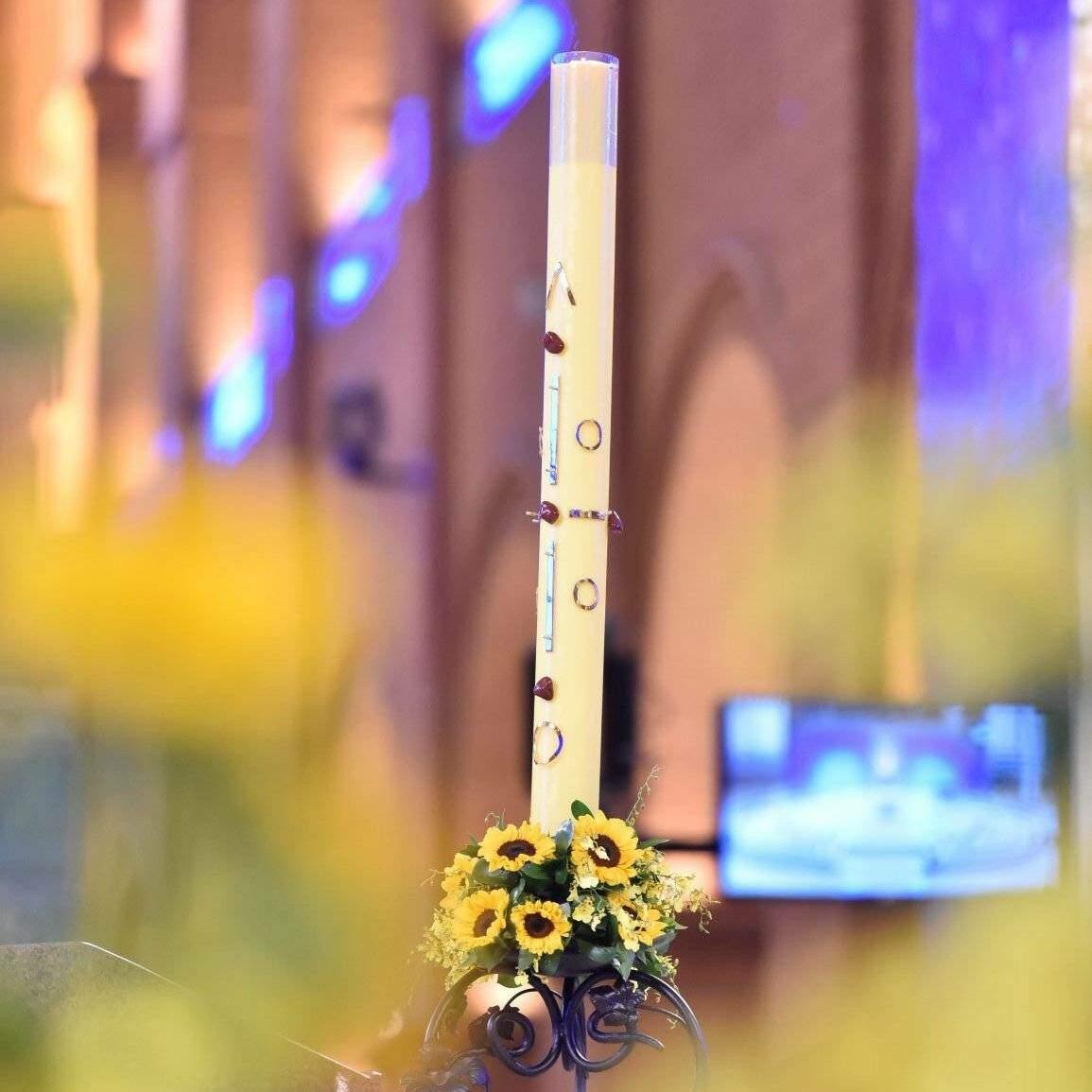 Missa da Páscoa do Senhor: Ser como girassóis, sempre voltados à Luz de Cristo