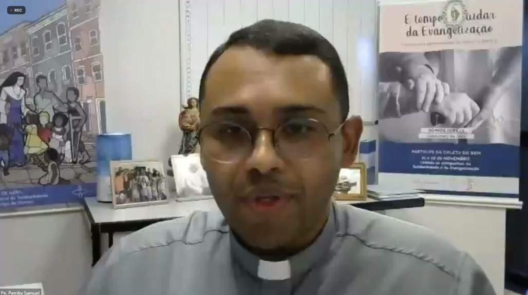 Padre-Patrick2 (Reprodução/CNBB)
