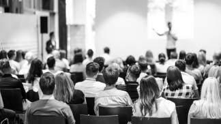 público palestra professor seminário Público-alvo